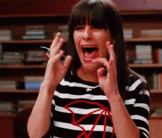 Lea Michele quel momento imbarazzante sul set