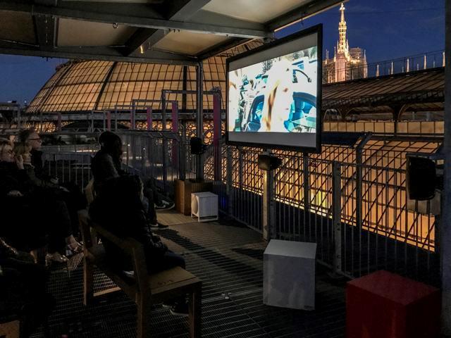 Cinema in Galleria Vittorio Emanuele Milano