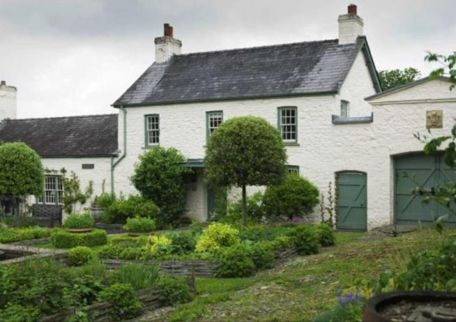 La residenza reale di Llwynywermod