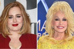 Adele come Dolly Parton su Instagram
