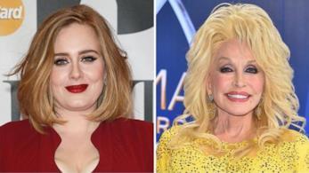 Adele come Dolly Parton su Instagram
