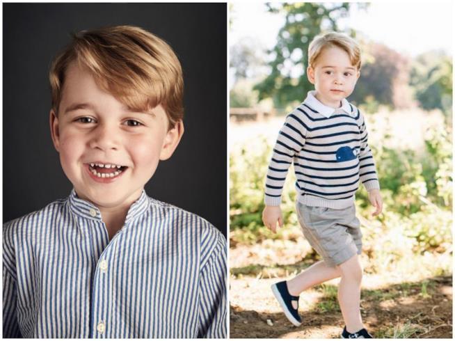 Lo scatto ufficiale per i 4 anni del Principe George