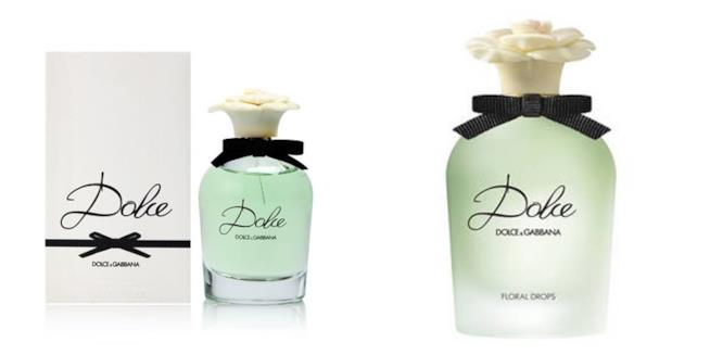La linea di profumi Dolce di Dolce & Gabbana: Dolce e Dolce Floral Drops