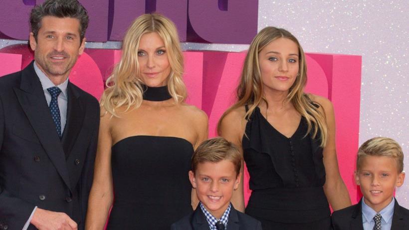 Patrick Dempsey e la sua famiglia