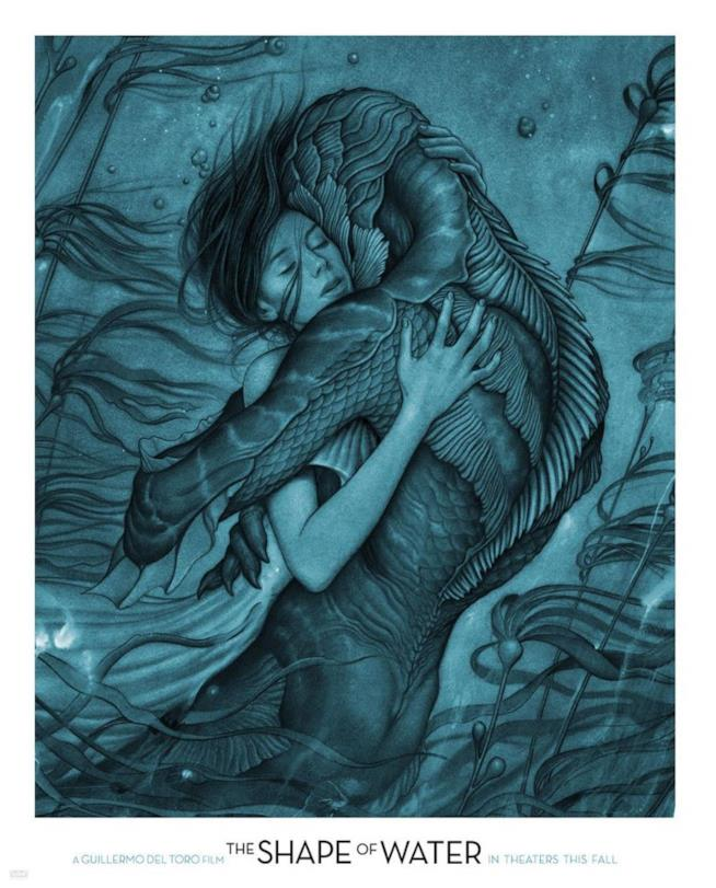 The Shape of Water - James Jean