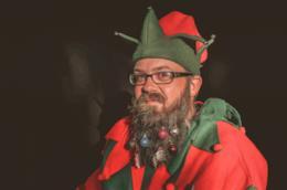 Una barba natalizia