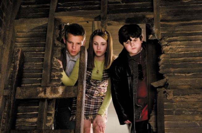 Nancy e i fratelli Handy nel film Nancy Drew 2007