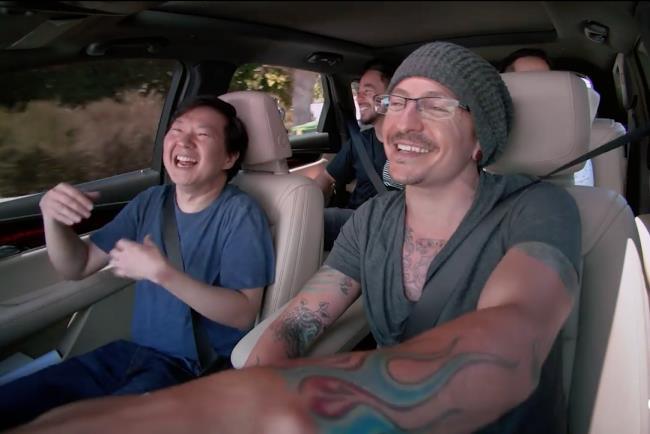 Il carpool karaoke con i Linkin Park