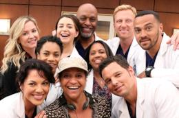 Il cast della stagione 12 di Grey's Anatomy