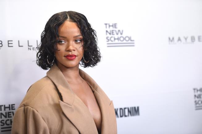 Rihanna cantante e proprietaria del brand Fenty Beauty