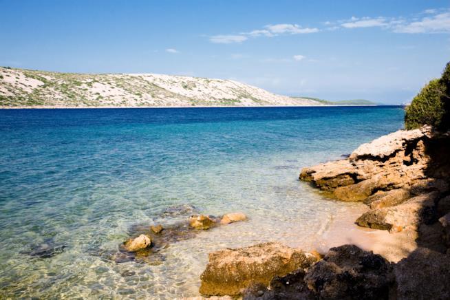 Croazia: isola di Rab