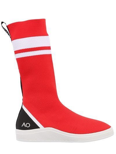 Sneakers effetto calzino di Adno per Natale