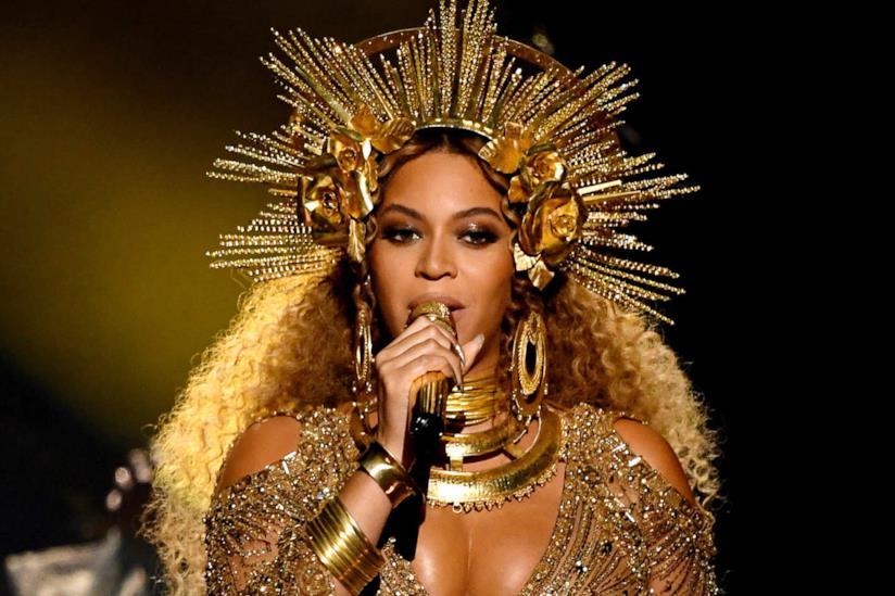 Pop star Beyoncé