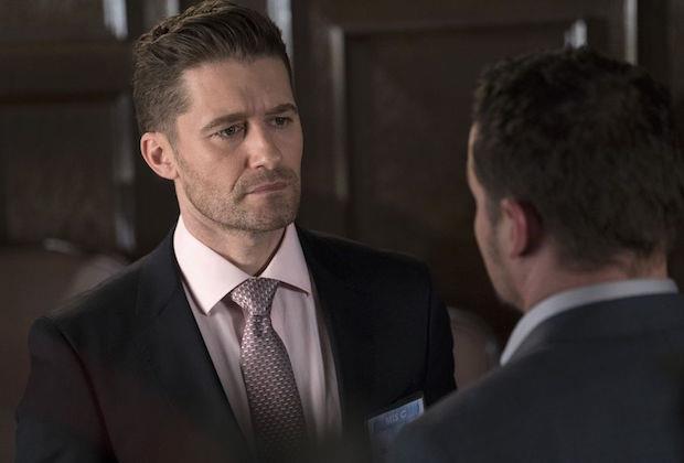 Matthew Morrison, che interpreta l'ex marito di Jo Wilson