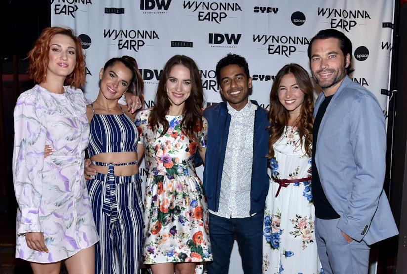 Gli attori  della serie TV Wynonna Earp