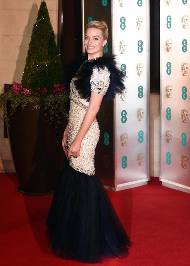 Margot Robbie ai BAFTA 2019