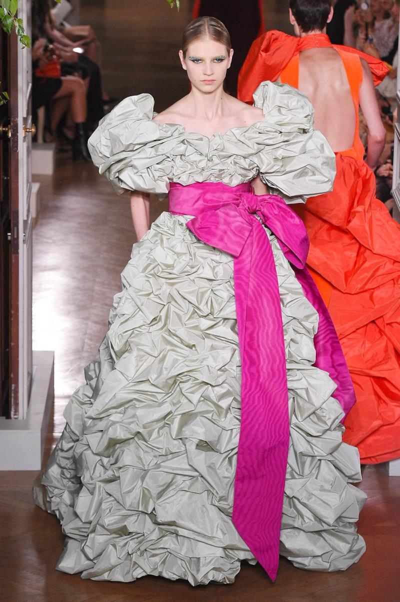 Sfilata VALENTINO Collezione Alta moda Autunno Inverno 19/20 Parigi - ISI_4116