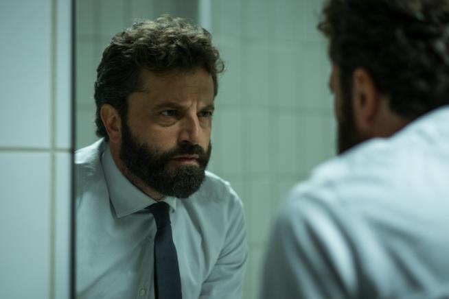 L'attore Guido Caprino