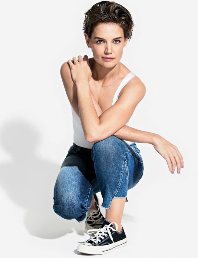 Katie Holmes in perfetta forma per il suo nuovo film