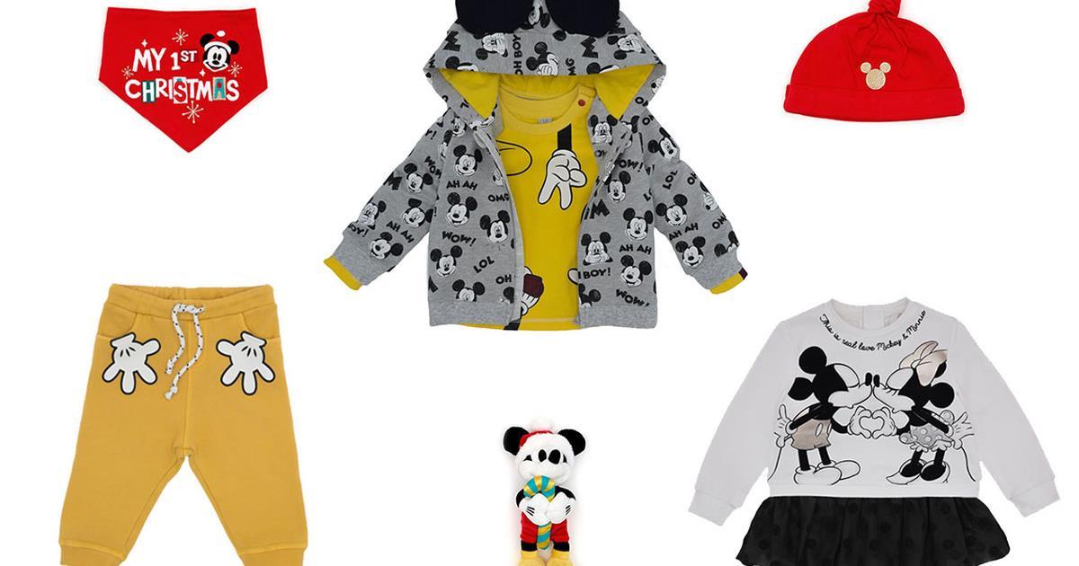 Disney abbigliamento neonato: i capi d'abbigliamento per i bimbi ispirati a film e cartoni