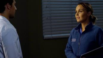 Jo e Andrew in Grey's Anatomy