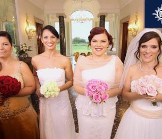 Quattro Matrimoni in Italia festeggia anche le nozze acrobatiche