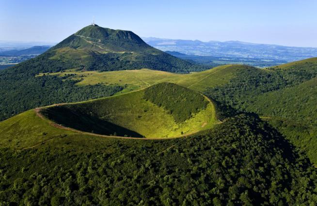 mete più rilassanti: Parco Naturale dell'Alvernia, Francia