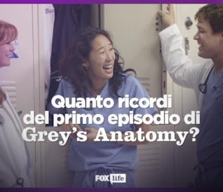 Quanto ricordi del primo, indimenticabile episodio di Grey's Anatomy?