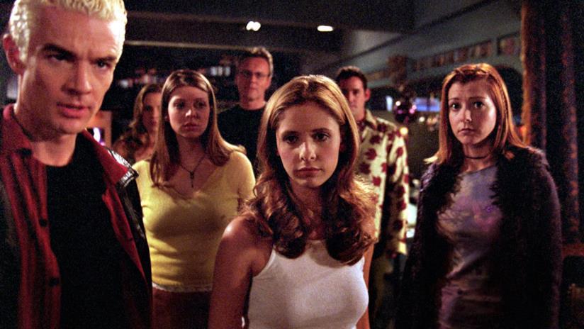 Buffy e la Scooby Gang, protagonisti del quasi omonimo show negli anni '90