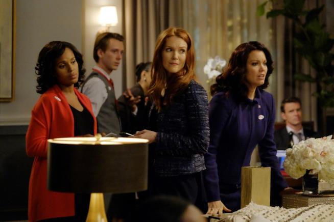 Scandal 6 Olivia, Mellie e Abby