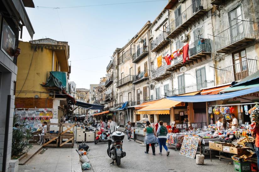 Il mercato palermitano di Ballarò