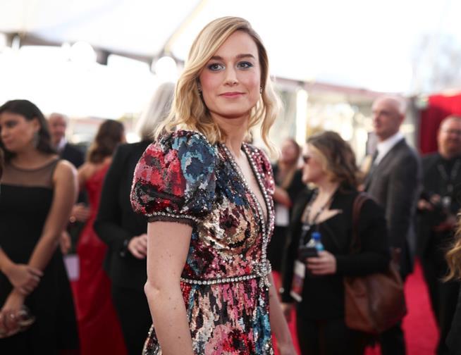 L'attrice Brie Larson
