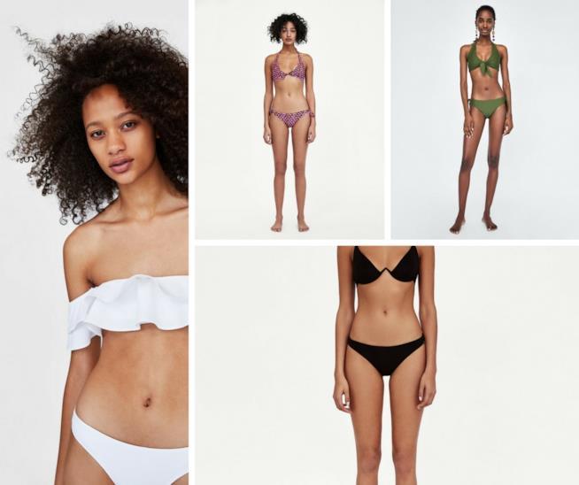 Collezione bikini Zara estate 2018