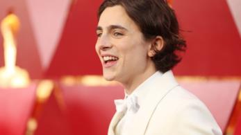 Timothée Chalamet agli Academy Awards 2018