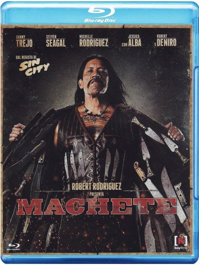 Blu-ray di Machete