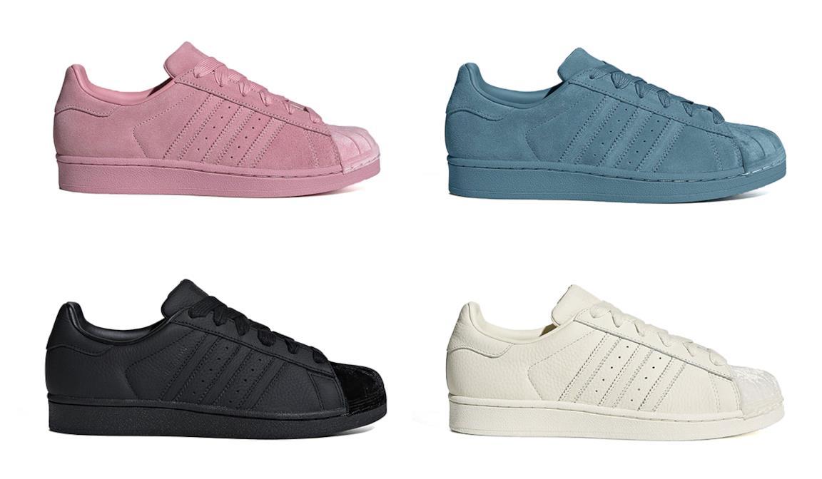 9d09831e3d Per il 2019 l'Adidas Superstar si veste di velluto