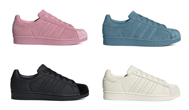 Per il 2019 l Adidas Superstar si veste di velluto 3e66f23af26