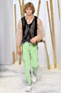 Sfilata FENG CHEN WANG Collezione Uomo Primavera Estate 2020 Londra - CSC_2296