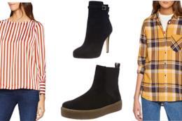 Amazon Moda: camicie, bluse e stivali