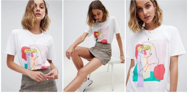 Regali per chi ama l'arte: maglietta con stampa