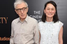 Woody Allen e la moglie Soon-Yi Previn