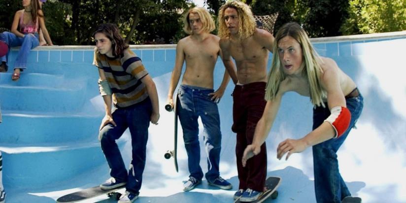 Scena del film sulla storia dello skateboard Lords of Dogtown