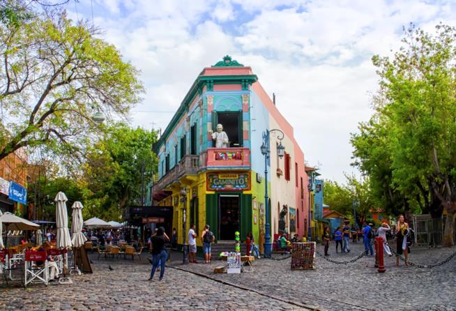 Il Caminito, la strada principale de La Boca
