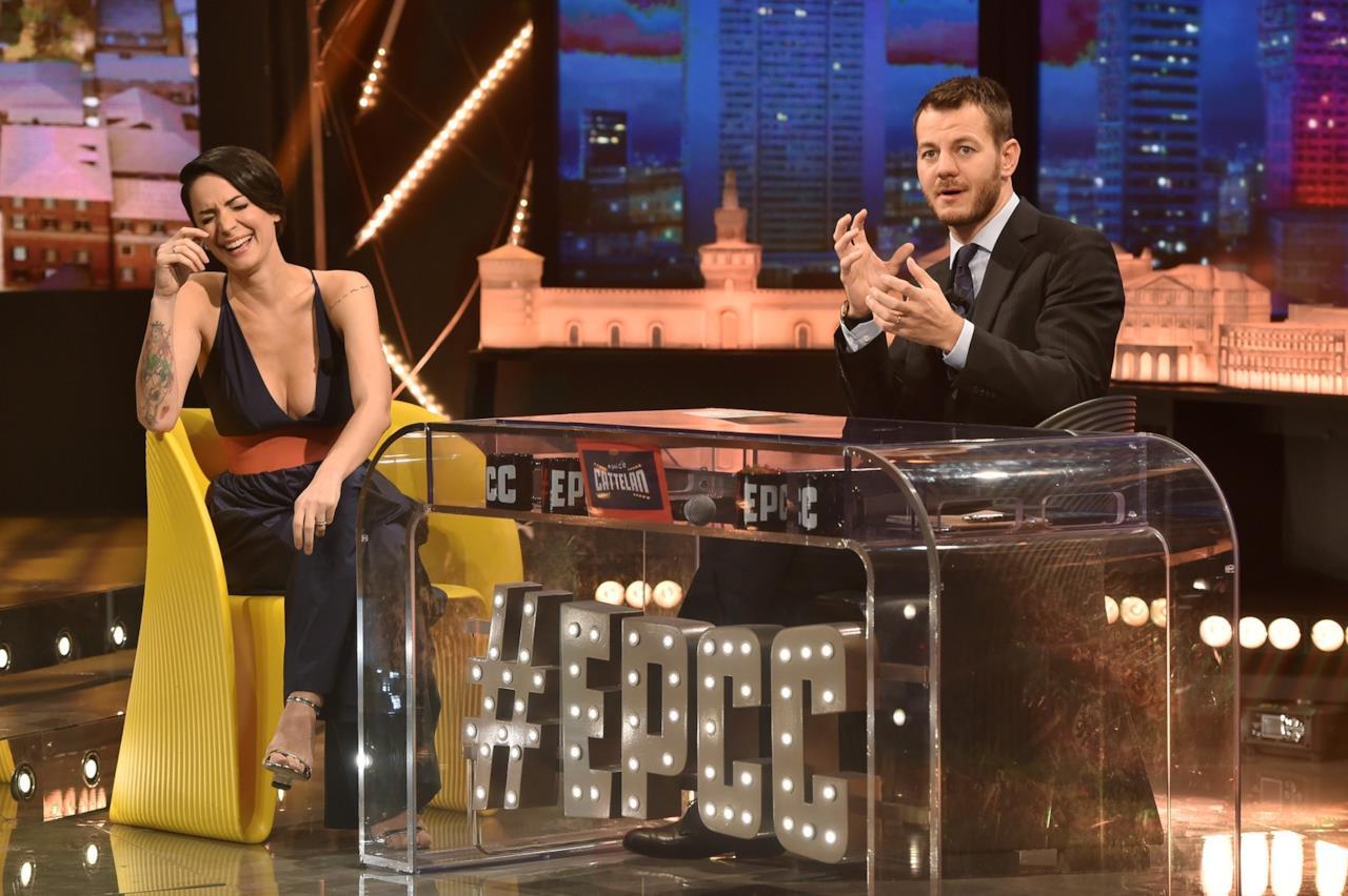 Andrea Delogu e Alessandro Cattelan EPCC
