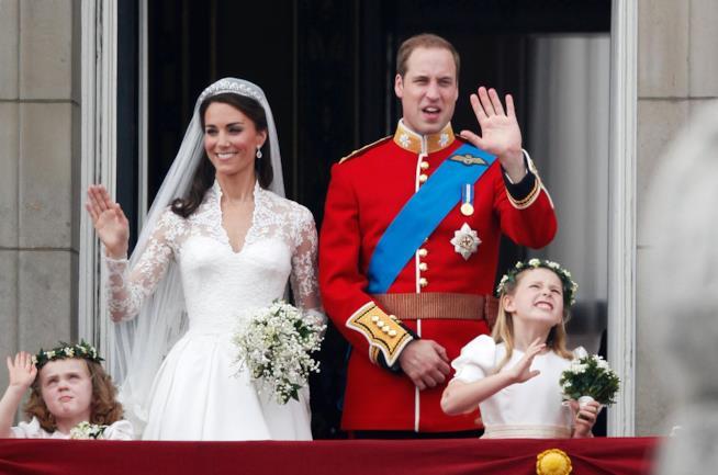 Un'immagine del Royal Wedding