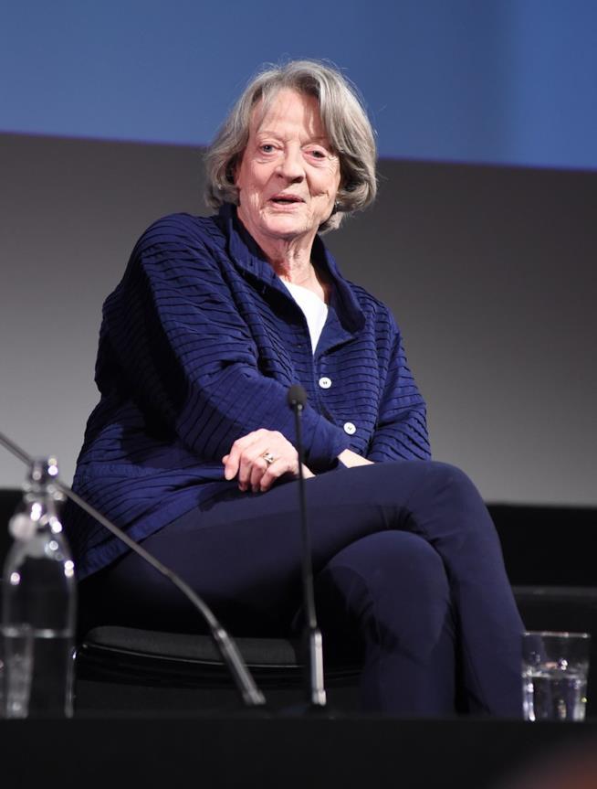 Maggie Smith a un incontro