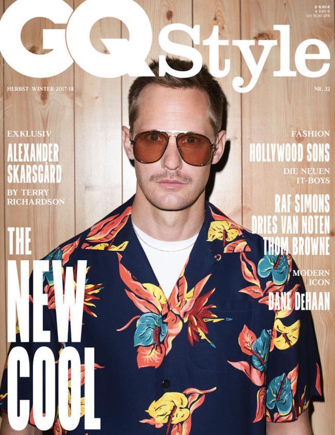 La cover di GQ Style con Alexander Skarsgård
