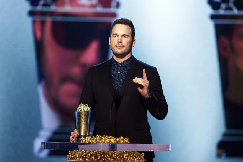 Chris Pratt sul palco