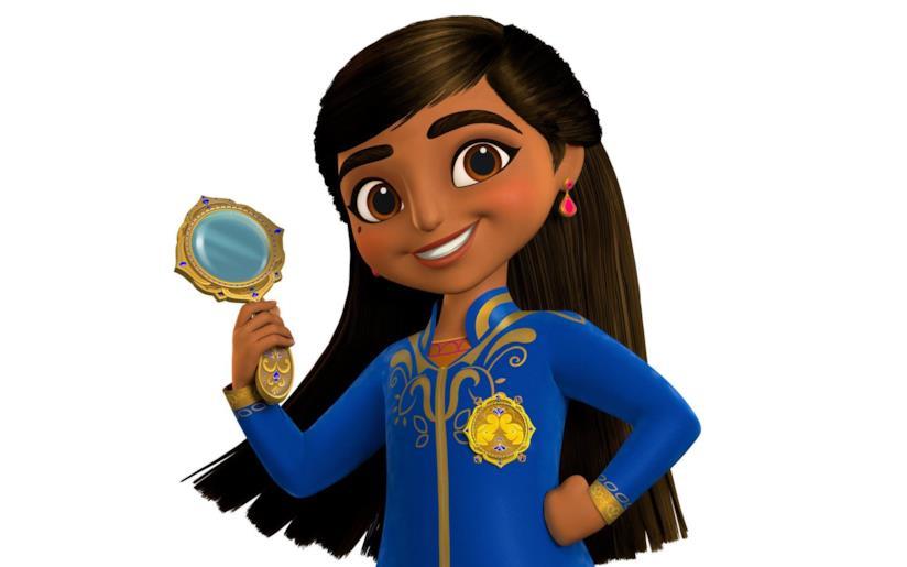 Un'immagine della serie Disney Mira