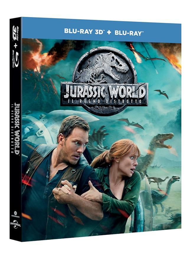 Blu-ray di Jurassic World: Il Regno Distrutto